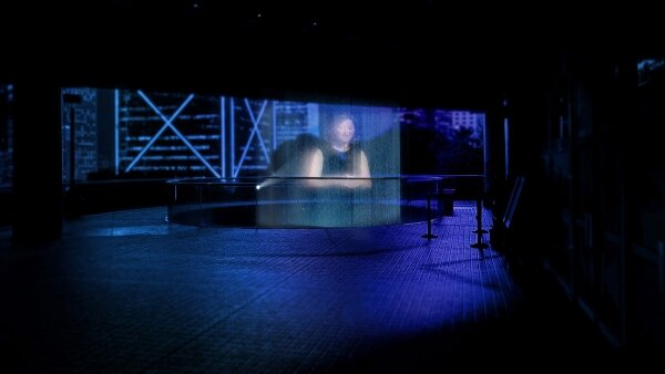 Unbounded by travel restrictions, Theatre of Voices performs in Hong Kong through holography.