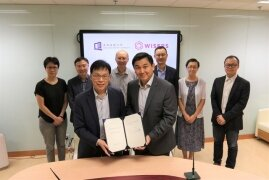 HKBU and Wisers sign collaboration agreement to conduct research on big data, AI and digital media