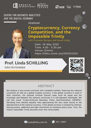 Prof. Linda SCHILLING, Ecole Polytechnique