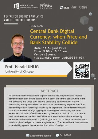 Prof. Harald UHLIG, University of Chicago