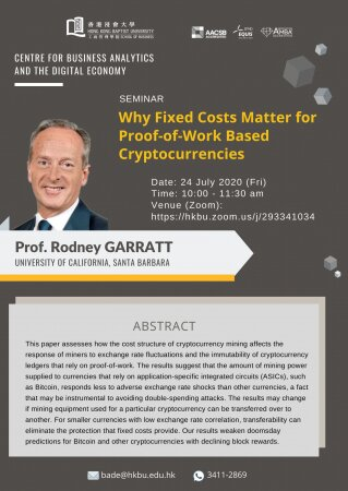 Prof. Rodney GARRATT, University of California, Santa Barbara
